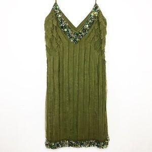 Blumarine embellished shift dress